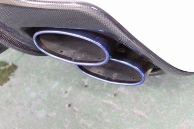 画像3: ISF用 チタンエクゾーストテール
