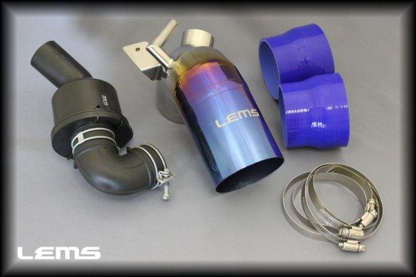 画像1: 2AR-FSE(クラウンハイブリッド/IS300h/GS300h/RC300h)用チタンインテークパイプ&サウンドジェネレーター対応 (1)