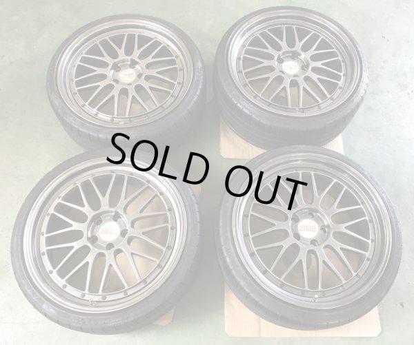 画像1: LEMS 限定モデルBBS LM プラチナエディション  中古4本タイヤセット (1)