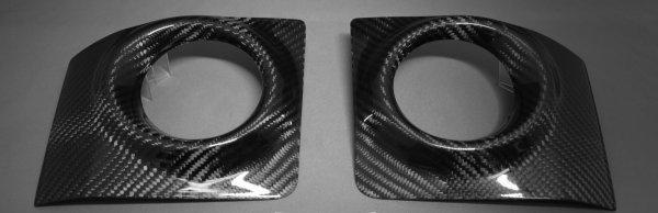 画像1: ISF用ドライカーボンフォグランプカバー 左右セット (1)