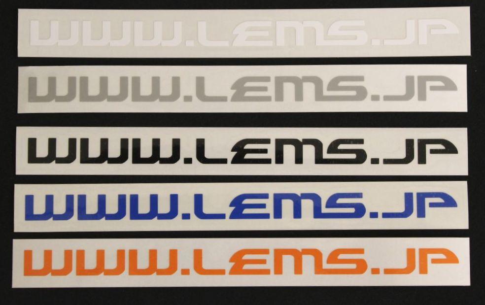 画像1: LEMS.JP ドメインステッカー