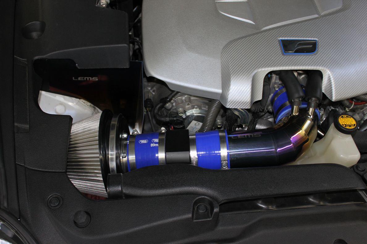 画像1: ISF用LEMSチタンクーリングボード&BLITZSUSパワーエアクリーナーキットセット