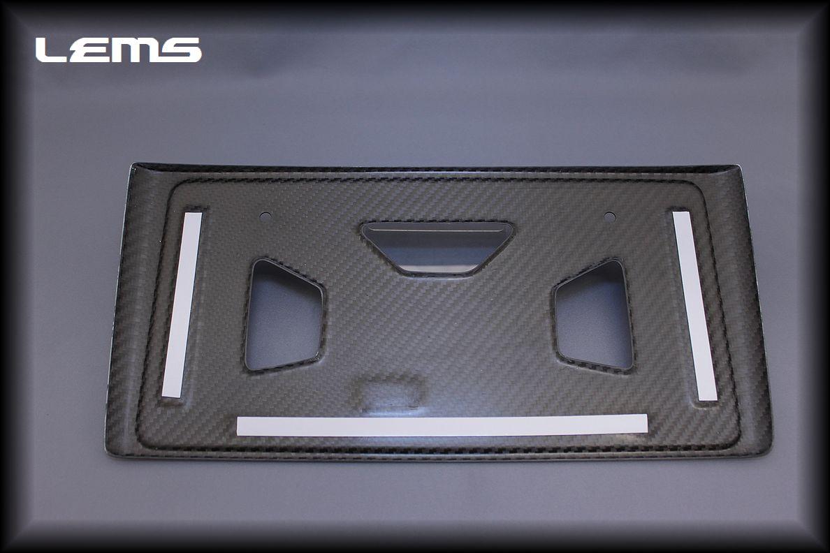 画像2: IS2#用 ドライカーボン リヤナンバーフレーム