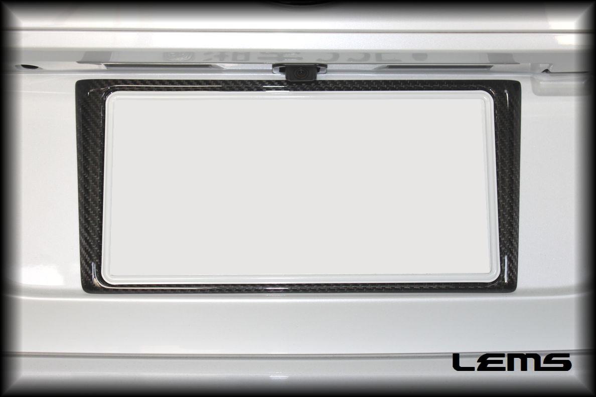 画像3: GS用 ドライカーボン リヤナンバーフレーム
