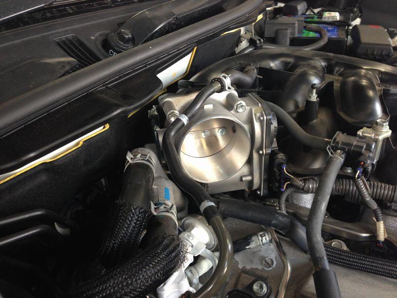 画像2: チタンBIGスロットル 2GRエンジン IS3.5L GSE2#用(ノーマル下取り有)