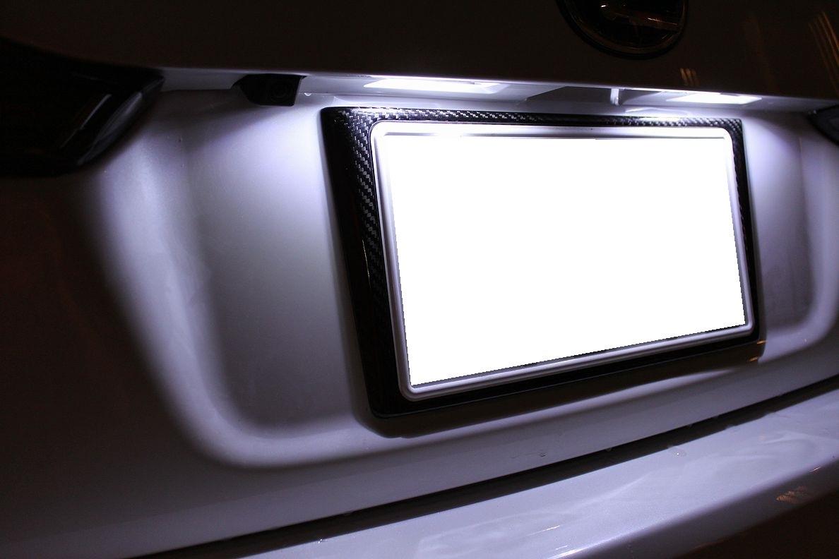 画像4: CT200h用 ドライカーボン リヤナンバーフレーム