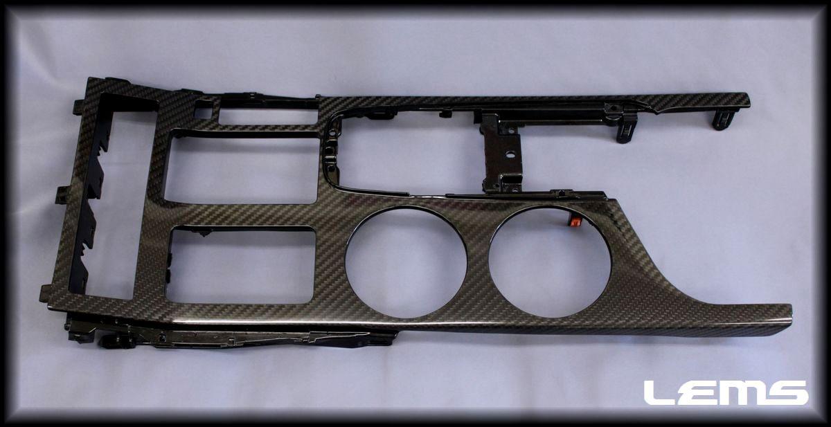 画像1: ドライカーボンセンターコンソール  RC(〜H29年10月)用1点