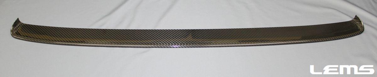 画像2: LC500/h用 グリルモールロア ドライカーボン