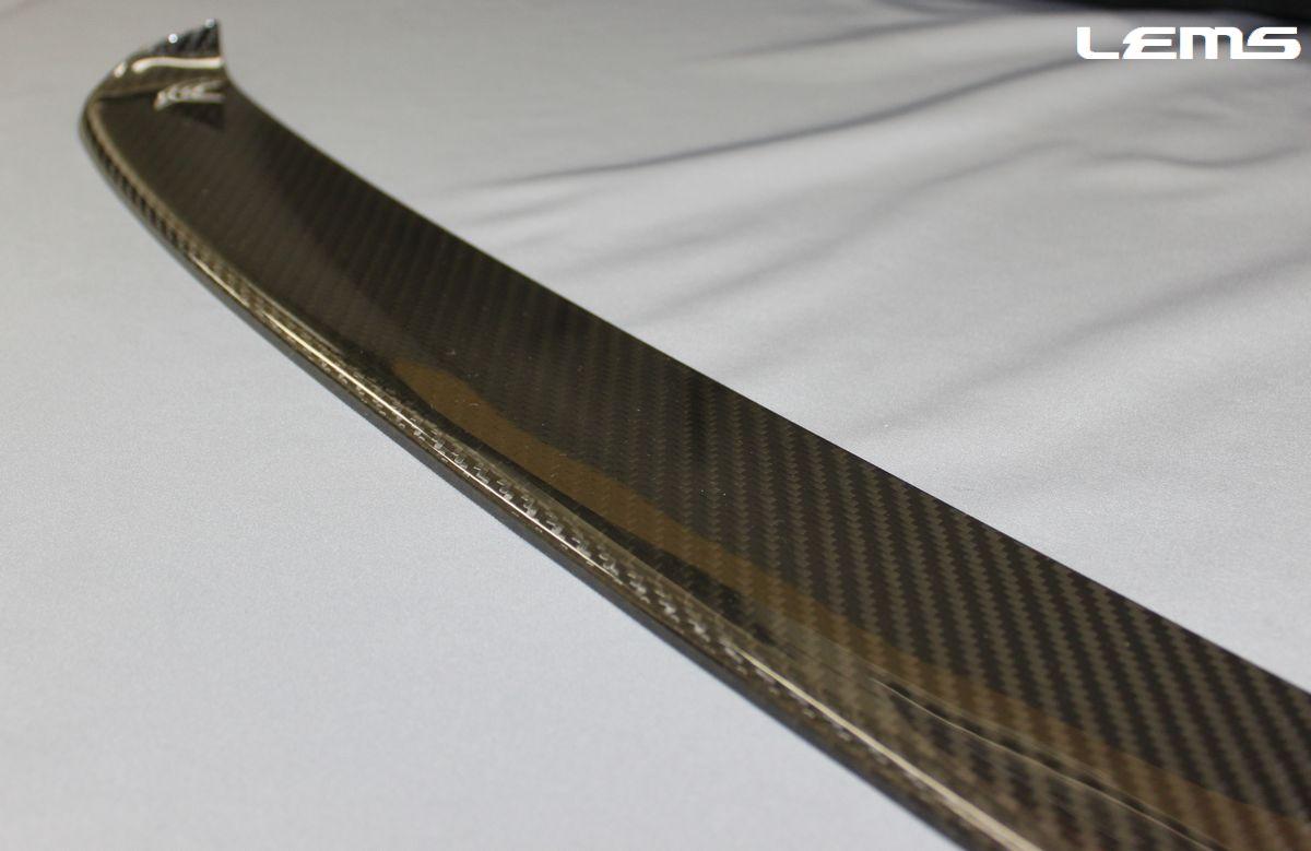 画像3: LC500/h用 グリルモールロア ドライカーボン