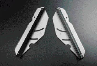画像1: LEMS 別注 UFSアンダーフロアースポイラー ISF フロント、リヤ稼動モデル